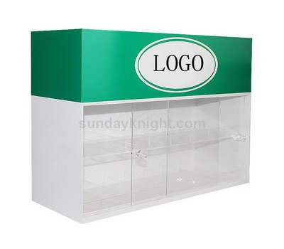 Custom acrylic cabinet