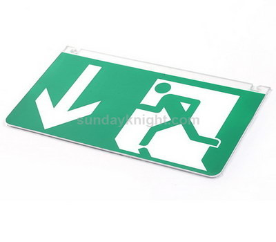 Custom acrylic Exit signs