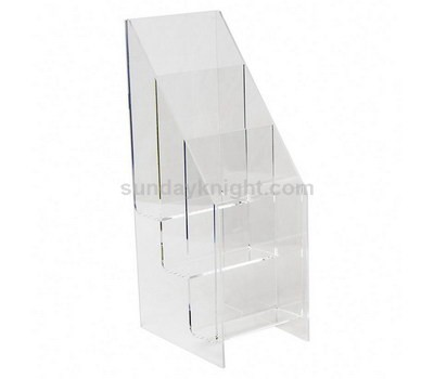 Acrylic flyer display stand