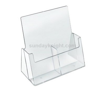 Clear brochure holders