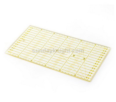 Acrylic quilt ruler