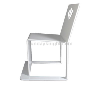 Modern acrylic dining chairs