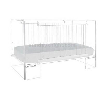 Acrylic baby crib