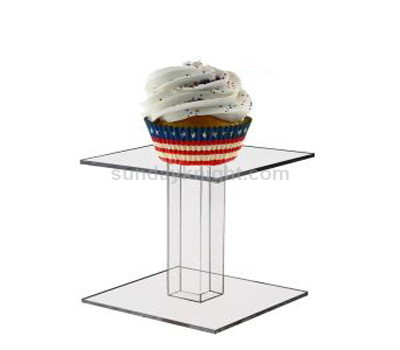 Clear acrylic dessert stand
