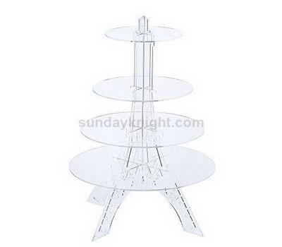 Unique elegant acrylic cupcake stand