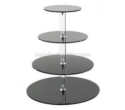 Black acrylic cupcake stand