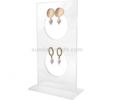 Clear acrylic earring display stand