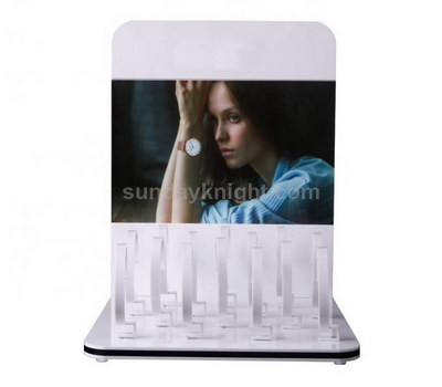 Elegant acrylic display for watch