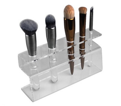 Clear acrylic display stand for makeup brush
