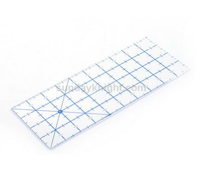Acrylic quilting rulers