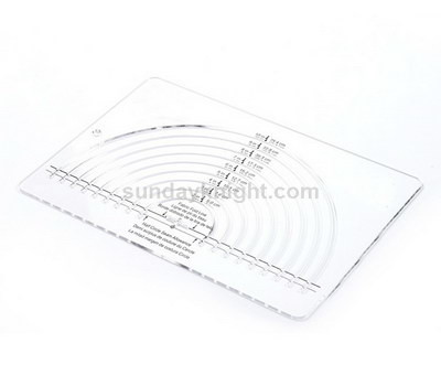 Acrylic tailor ruler