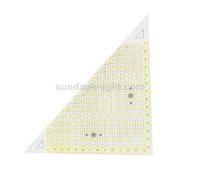 Acrylic quilting templates ruler