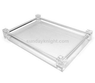 Custom clear acrylic tray