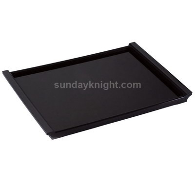 Handmade black acrylic serving tray