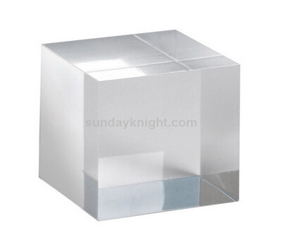 Custom clear acrylic blocks