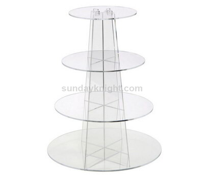 Acrylic cupcake tower stand