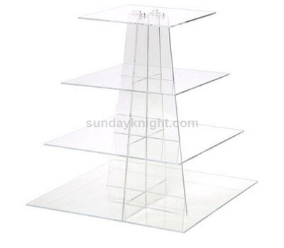 Clear Dessert Display Holder Stand