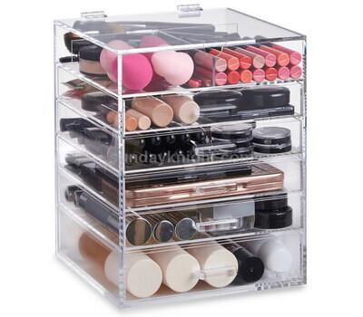 Custom clear acrylic drawer box