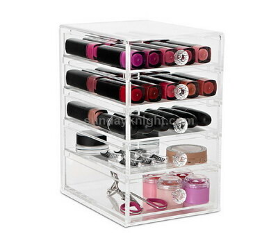 Acrylic makeup drawer box wholesale