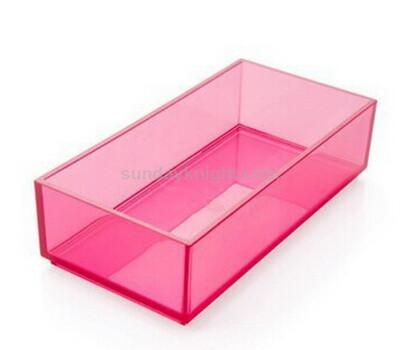 5 sided acrylic rectangle