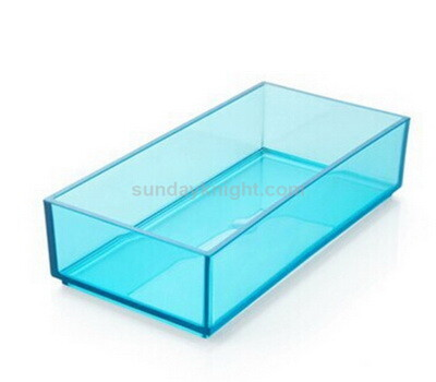 colored 5 sided acrylic box