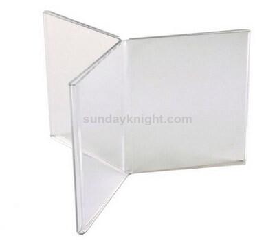 6 sided acrylic menu holder