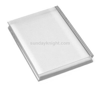 Clear Acrylic Block Rectangle Stamp Blocks