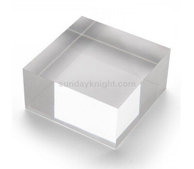 Custom solid acrylic blocks
