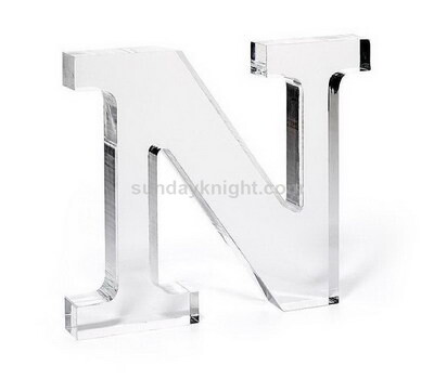 Personalized acrylic letters