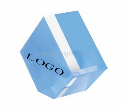 Acrylic logo blocks
