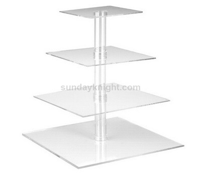 Square acrylic cupcake stand
