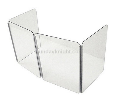 Foldable acrylic sneeze guard