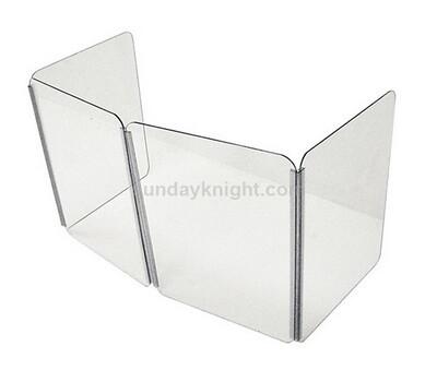 Foldable acrylic sneeze guard