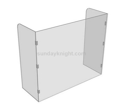 Collapsible acrylic sneeze guard