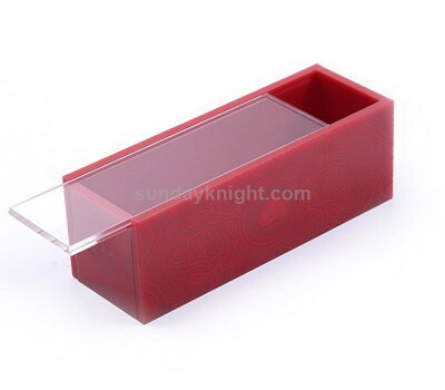 Custom acrylic box sliding lid
