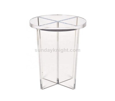 Wholesale round acrylic end table