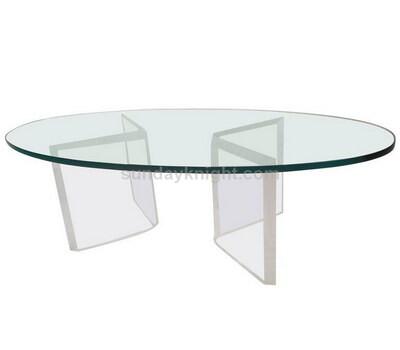 Custom acrylic coffee table