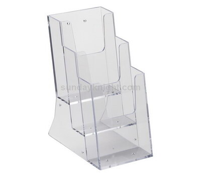3 tier acrylic booklet holders
