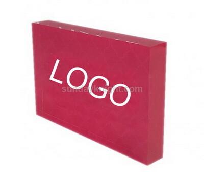 Acrylic logo block