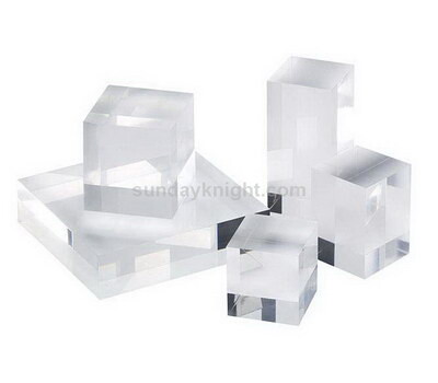 Custom perspex blocks