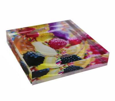 UV printed acrylic soap tray