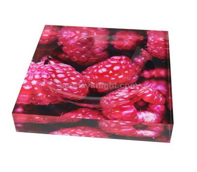 UV printing acrylic soap stand