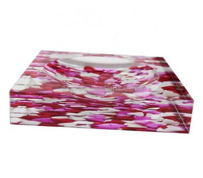 color printing acrylic soap dish