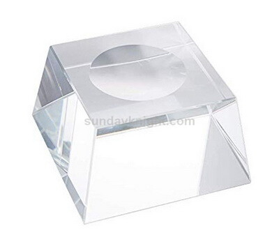 Clear acrylic block for soap