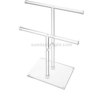Custom acrylic jewelry display stands