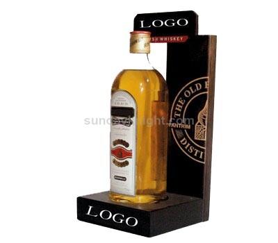 Custom wine bottle display