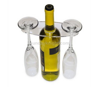 Acrylic wine glass display