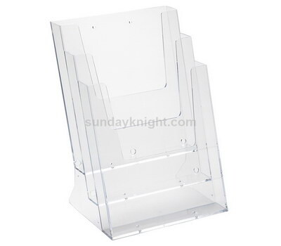 Acrylic brochure rack