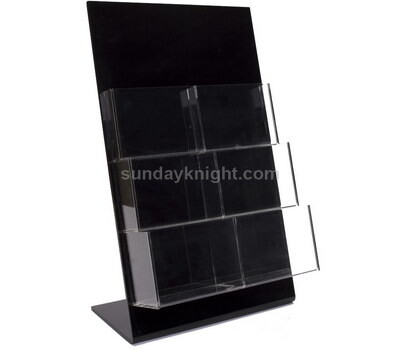 Custom acrylic pamphlet stand