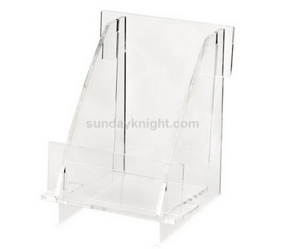 Acrylic literature holder stand